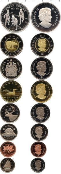 Каталог - подарочный набор  Канада Выпуск монет 2012 в качестве Пруф