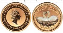 Каталог монет - монета  Острова Кука 25 долларов