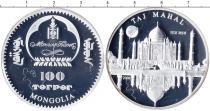 Каталог монет - монета  Монголия 100 тугриков