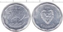 Каталог монет - монета  Кипр 5 центов