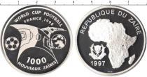Каталог монет - монета  Заир 1000 заиров