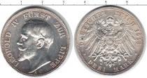 Каталог монет - монета  Липпе-Детмольд 3 марки