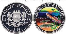 Каталог монет - монета  Сомали 10 долларов