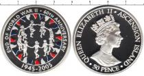 Каталог монет - монета  Аскенсион 25 пенсов