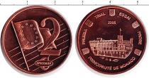 Каталог монет - монета  Монако 2 евроцента