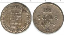Каталог монет - монета  Люксембург 3 соля