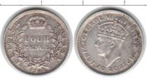 Каталог монет - монета  Гайана 4 пенса