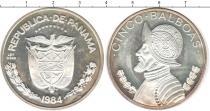 Каталог монет - монета  Панама 5 бальбоа