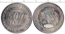 Каталог монет - монета  КФА 500 франков