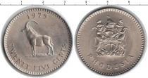 Каталог монет - монета  Родезия 25 центов