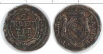 Каталог монет - монета  Баден 2 крейцера