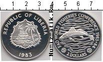 Каталог монет - монета  Либерия 2 доллара