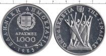 Каталог монет - монета  Греция 1000 драхм