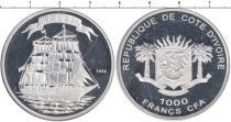 Каталог монет - монета  Кот-д`Ивуар 1000 франков