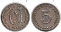 Каталог монет - монета  Панама 5 сентесим