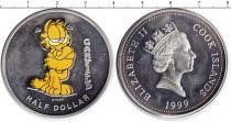 Каталог монет - монета  Острова Кука 1/2 доллара