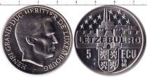 Каталог монет - монета  Люксембург 5 экю