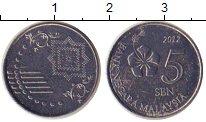 Каталог монет - монета  Малайзия 5 сен
