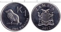 Каталог монет - монета  Замбия 1 квача