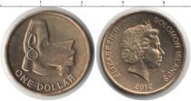 Каталог монет - монета  Соломоновы острова 1 доллар