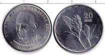 Каталог монет - монета  Самоа 20 сен