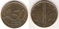 Каталог монет - монета  Нидерланды 50 евроцентов