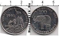 Каталог монет - монета  Эритрея 100 центов