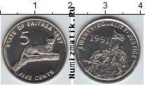 Каталог монет - монета  Эритрея 5 центов