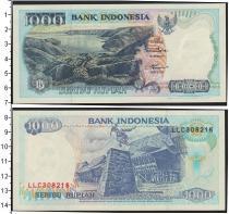 Каталог монет - монета  Индонезия 1000 рупий