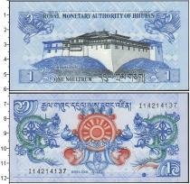 Каталог монет - монета  Бутан 1 нгултрум