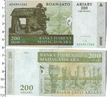 Каталог монет - монета  Мадагаскар 200 ариари