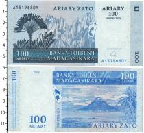 Каталог монет - монета  Мадагаскар 100 ариари