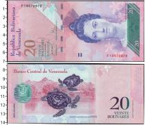 Каталог монет - монета  Венесуэла 20 боливар