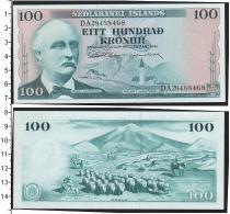 Каталог монет - монета  Исландия 100 крон