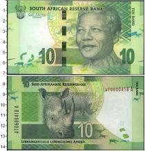 Каталог монет - монета  ЮАР 10 рандов