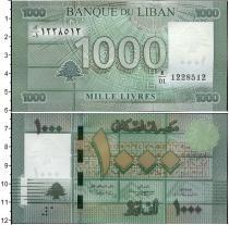 Каталог монет - монета  Ливан 1000 ливр
