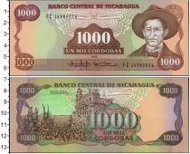 Каталог монет - монета  Никарагуа 1000 кордоба