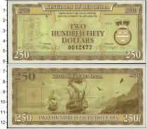 Каталог монет - монета  Редонда 250 долларов