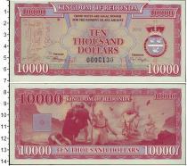 Каталог монет - монета  Редонда 10000 долларов