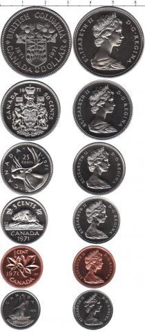Каталог - подарочный набор  Канада Канада 1971