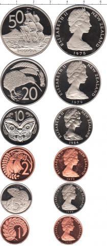 Каталог - подарочный набор  Новая Зеландия Новая Зеландия 1978-1984