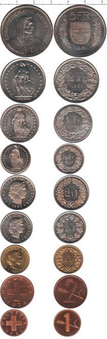 Каталог - подарочный набор  Швейцария Швейцария 1974-1981