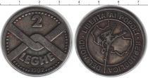Каталог монет - монета  Антарктика 2 леге