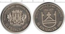 Каталог монет - монета  Сен-Бартельми 50 франков