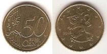 Каталог монет - монета  Финляндия 50 евроцентов