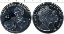 Каталог монет - монета  Аскенсион 2 фунта