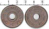 Каталог монет - монета  Палестина 10 милс