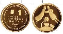 Продать Монеты Израиль 1 шекель 2004 Золото