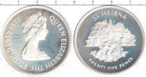 Каталог монет - монета  Святая Елена 25 пенсов