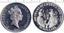 Каталог монет - монета  Острова Кука 50 долларов